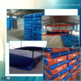 ISO9001のトラックの交通機関のための雨防水シート