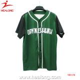 Chemises de Baseball Custom-Made Healong Sublimation