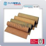 Folha de cortiça macia Folha de borracha de cortiça Rubber Cork Roll