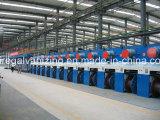 Máquina da galvanização do fio de aço eletro com certificado do Ce