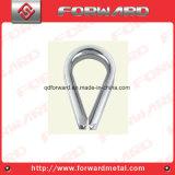 Stainess 철강선 밧줄 골무 DIN6899A