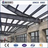 Structure en acier préfabriqués avec structure en acier de construction de châssis de la construction