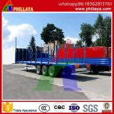 Participação Tri-Axle/ Post Transportes plataforma semi-reboque de Log