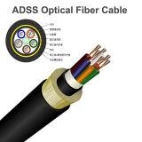 Cable de fibra óptica de ADSS