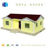 Novo design da estrutura de aço de 2 quartos barato Prefab House planejar