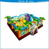 Glückliches Garten-aufblasbares Kleinkind-Spiel-aufblasbarer Spielplatz Klki-003