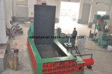 Presse à balles de métal horizontale à usage intensif de la machine