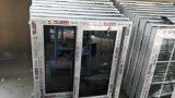 Social House를 위한 Single Clear Glass PVC Sliding Window를 주문 설계하십시오