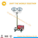 El generador de la torre de iluminación tipo LED camilla para la construcción al aire libre