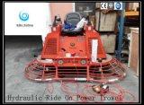 Paseo hidráulico en la paleta Gyp-1046 de la potencia con la rueda de la carretilla