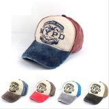 Casquillo ocasional ajustado gorra de béisbol de la colada de los sombreros del Snapback de Hip Hop del panel de Gorras 5 del casquillo del sombrero para las mujeres de los hombres unisex