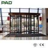 Comercial High-Tech ala automática de 2 Puerta giratoria con vitrinas