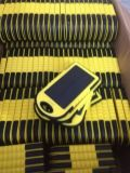 Chargeur solaire portable portable 5000mAh avec lampe LED (SC-01-6)
