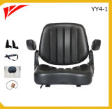 Sede ripiegata nera del carrello elevatore del coperchio di PVC (YY4-1)