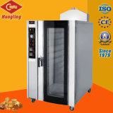 Bandeja de horno de convección eléctrico de 10 de la máquina para hornear alimentos Alimentos maquinaria de panadería equipamiento de cocina