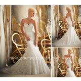 Платье венчания Princess Bridal Мантии Tulle Embroidary поезда стреловидности империи
