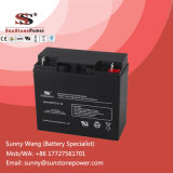 batería sin necesidad de mantenimiento sellada 18ah del AGM del almacenaje 12V