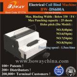 40 до 56 отверстия 25 листов бумаги Office Примечание книга электрической катушки Electrial спираль обязательного машины