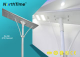 Lâmpada de rua solar Integrated do diodo emissor de luz da luz ao ar livre com bateria de lítio