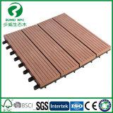 Matériaux extérieurs du plancher WPC pour la décoration extérieure