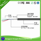 Schild-Kabel des Silikon-UL3135, kupferner Leiter-Bewegungsleitungskabel-Silikon-Heizungs-Draht