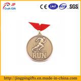 Подгонянное медаль игр металла круглой формы для сбывания
