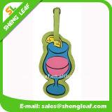 Etiqueta de goma del equipaje del PVC de la historieta del conejo (SLF-LT053)