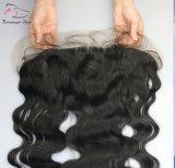 i Frontals pieni brasiliani del merletto 13X4 con il corpo fluttuano i capelli del Virgin dei gruppi dei capelli umani