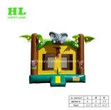 子供のための象のジャングルの主題の膨脹可能な警備員