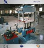 Tipo de coluna pequena vulcanização quente Pressione com controle flexível e Operação