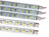 알루미늄 DC12V SMD 5050 LED 엄밀한 지구 바 빛