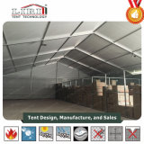 Profilé en aluminium tente avec murs de Sandwich et roulant électrique de porte tente d'entrepôt