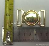 Commerce de gros de Design de Mode de verrouillage en alliage de zinc métal pour la boucle de ceinture