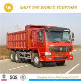 HOWO 371HP 6X4 팁 주는 사람 덤프 트럭 팁 주는 사람 트럭