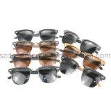 De nieuwste Zonnebril van de Acetaat van de Lens van de Spiegel van het Patroon van het Ontwerp Houten Koele