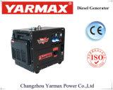 携帯用防音の空気によって冷却されるディーゼル発電機(3/5/6/7/10 KVA)