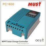 La refrigeración por aire el hogar 20A MPPT Controlador de carga solar 12V 24V