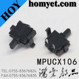 복각 유형 2pin 정연한 리셋 스위치 또는 측 누름단추식 전쟁 스위치 (HY-MPUCX106)