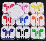 Earbud colorido parte el auricular del teléfono móvil para el iPhone 6/5s