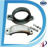 Acoplamentos Grooved elevados do encaixe de tubulação da pressão de funcionamento do aço inoxidável Ss304 316
