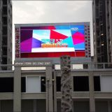 P8mm que hace publicidad de las pantallas de visualización al aire libre a todo color de LED de la ventilación