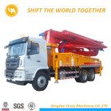 Camion dell'asta montato camion della pompa per calcestruzzo da vendere