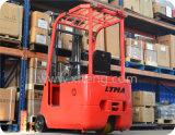 1 Ton - Carretilla elevadora de 1,5 toneladas de tres ruedas eléctrica Tenedor