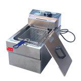 Roestvrij staal commerciële Kip Donut Fish fryer Aardappel Chips Deep Elektrische friteuse