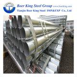 Rmeg Tubo de acero galvanizado en caliente BS1387 Tubo de acero galvanizado