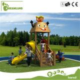 Speelplaats van de Kinderen van het meubilair van de kleuterschool de Openlucht/de Houten Plastic OpenluchtSpeelplaats van Jonge geitjes