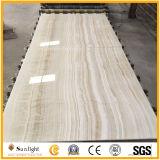 Veine en bois blanc/jaune Onyx pour les carreaux de plancher/mur