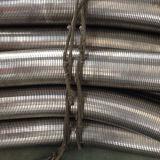Mangueira do metal do bloqueio do aço inoxidável