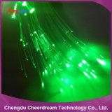 Luz plástica da fibra óptica do fulgor do fim de PMMA para a iluminação e a decoração