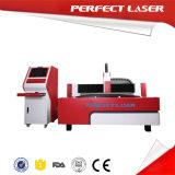 Máquina do corte do metal do laser da fibra da fabricação de metal da folha de bronze com Ce